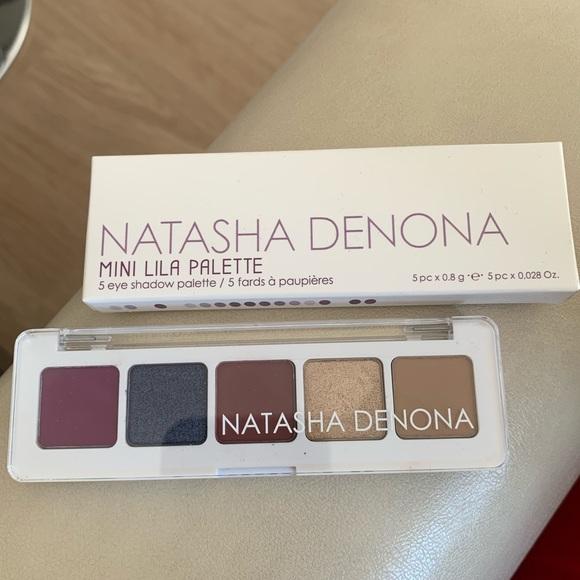 99% new Natasha Denona mini lila eyeshadow palette